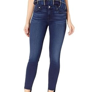 7 FOR ALL MANKIND GREAT COND STRETCHY SKINNY JEANS